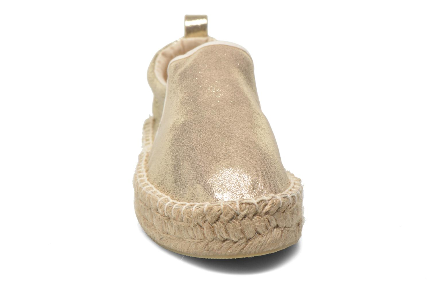 Espadrilles Colors of California Vicky Bronze and Gold model view