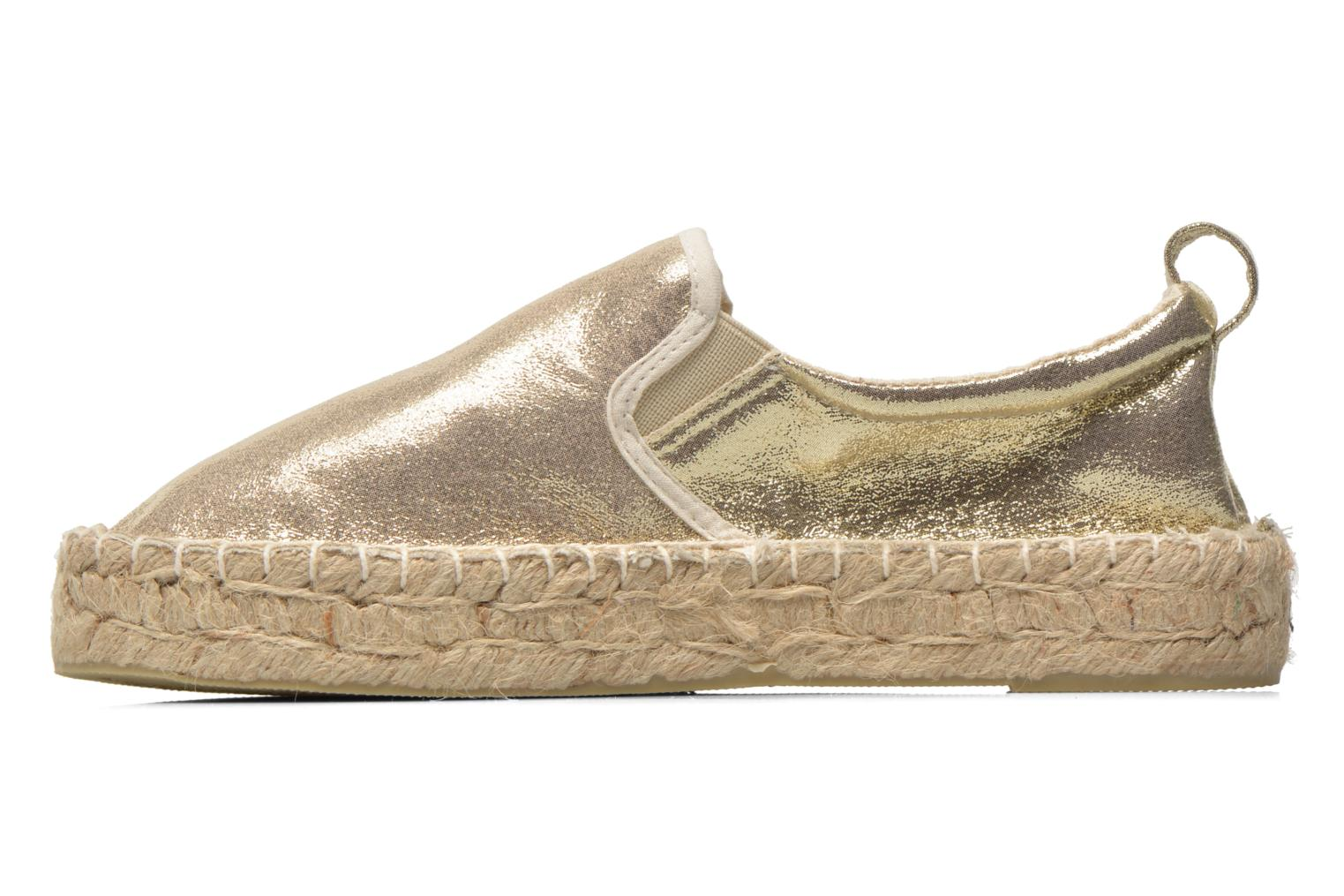 Espadrilles Colors of California Vicky Bronze and Gold front view