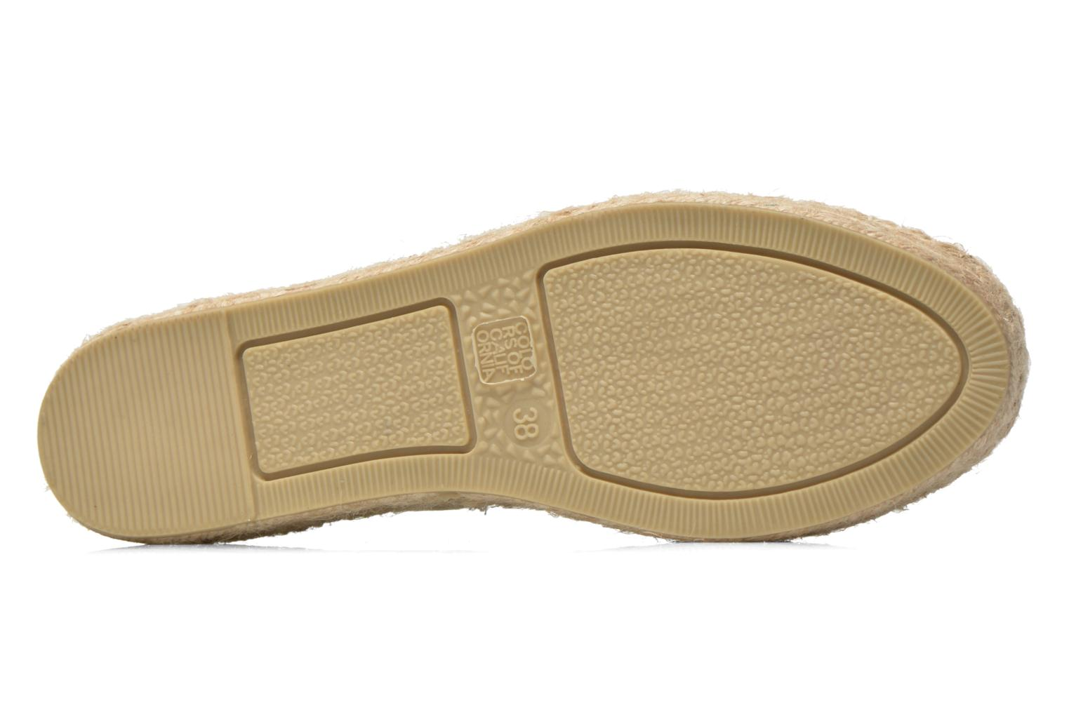Espadrilles Colors of California Vicky Bronze and Gold view from above