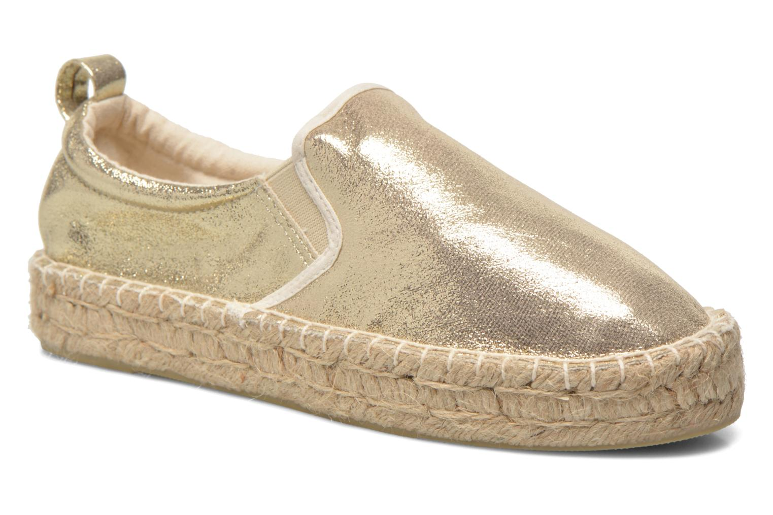 Espadrilles Colors of California Vicky Bronze and Gold detailed view/ Pair view