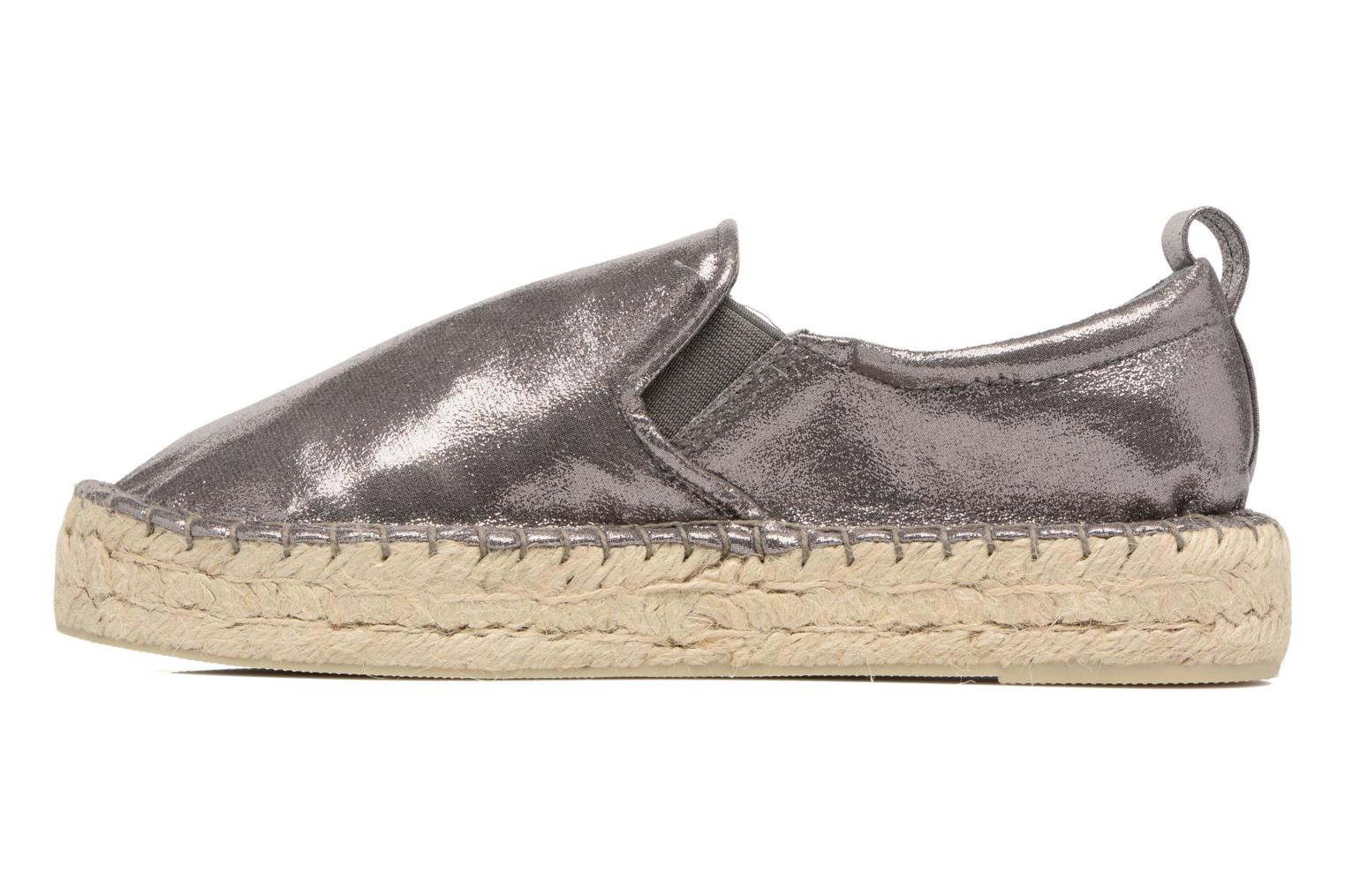 Espadrilles Colors of California Vicky Grey front view