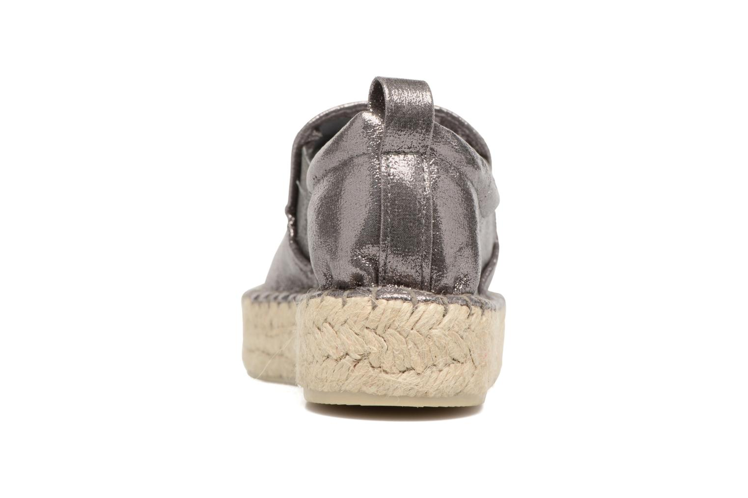 Espadrilles Colors of California Vicky Grey view from the right