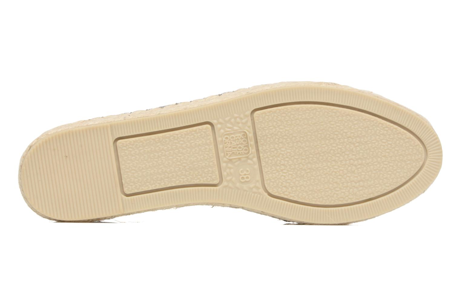 Espadrilles Colors of California Vicky Grey view from above