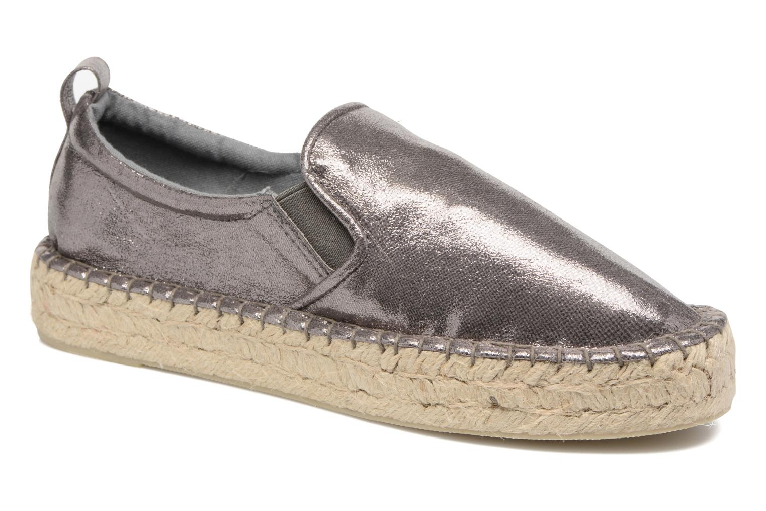 Espadrilles Colors of California Vicky Grey detailed view/ Pair view