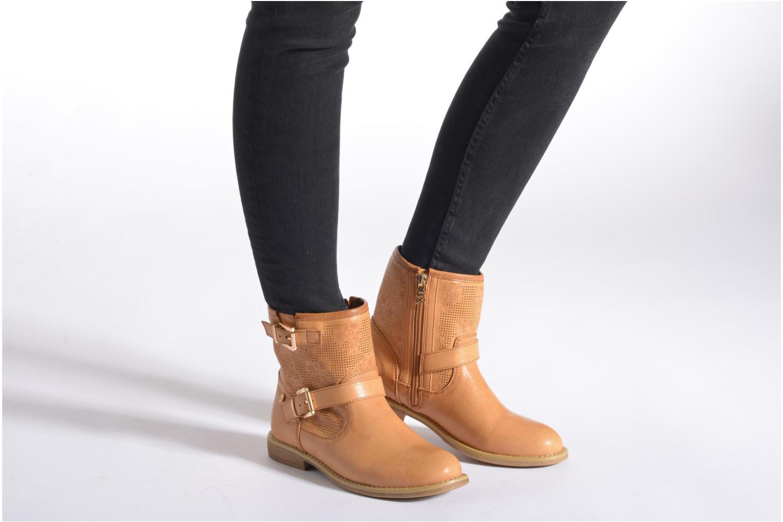 Bottines et boots Xti Randy 45017 Marron vue bas / vue portée sac