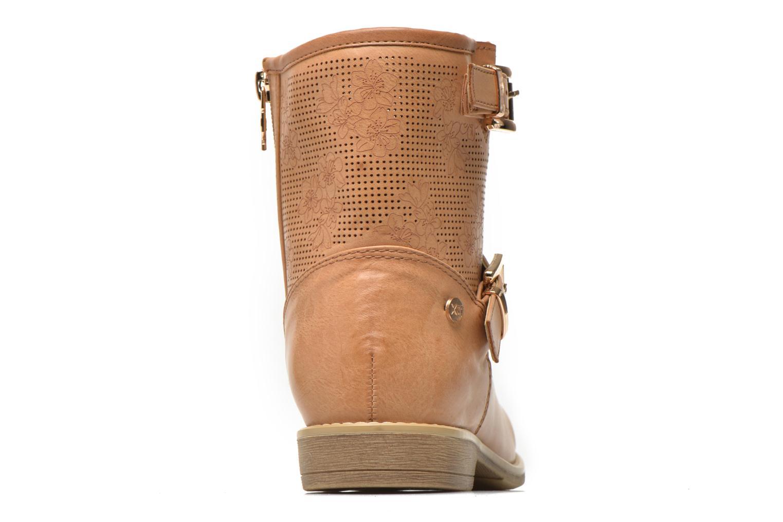 Bottines et boots Xti Randy 45017 Marron vue droite