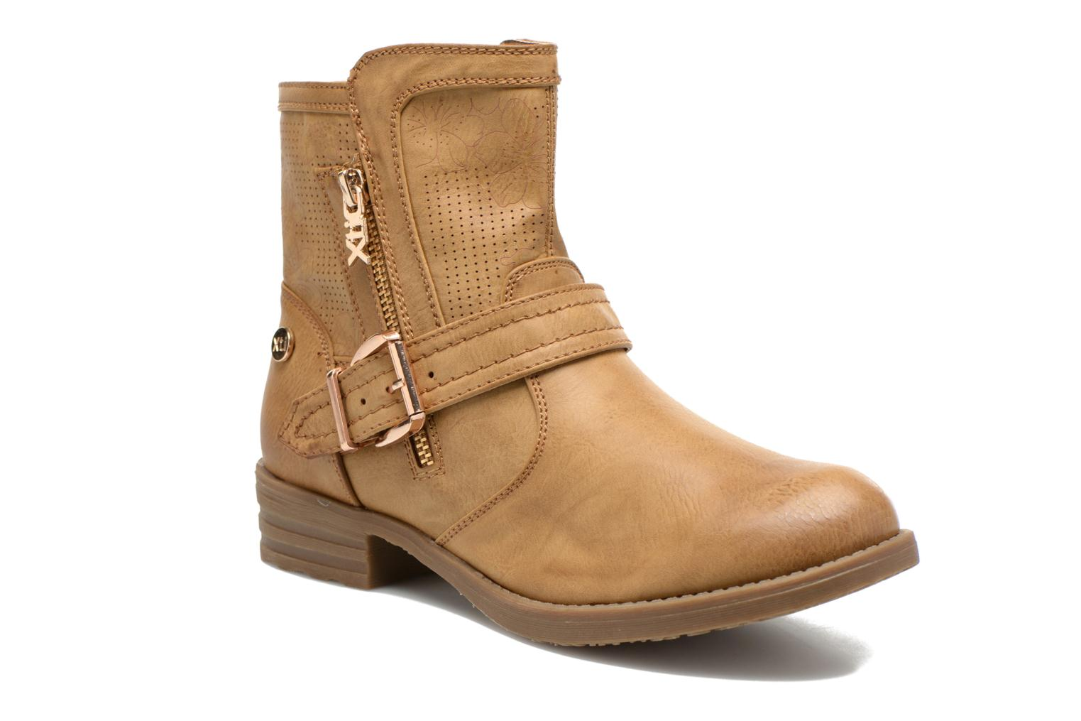 Ankle boots Xti Billie 45812 Brown detailed view/ Pair view