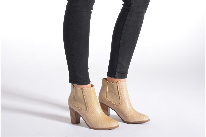 Stiefeletten & Boots Xti Mila 45011 beige ansicht von unten / tasche getragen