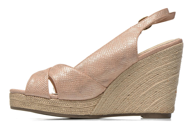Sandales et nu-pieds Xti Ginger 45944 Rose vue face