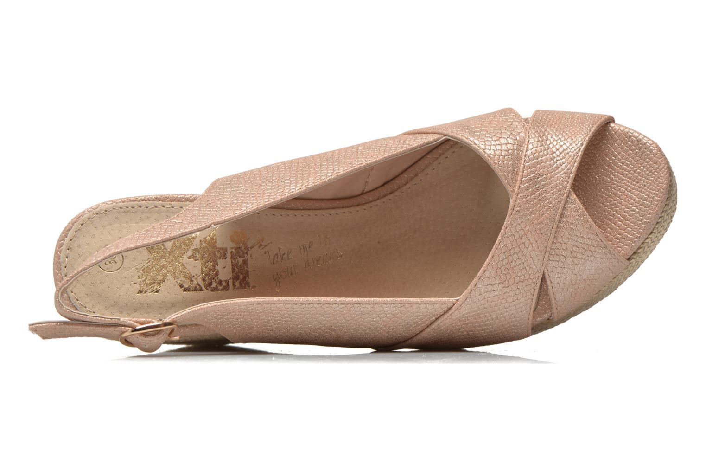 Sandales et nu-pieds Xti Ginger 45944 Rose vue gauche