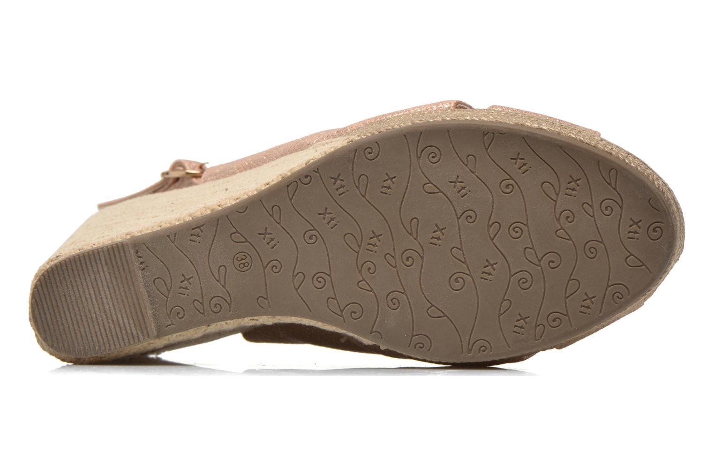 Sandales et nu-pieds Xti Ginger 45944 Rose vue haut