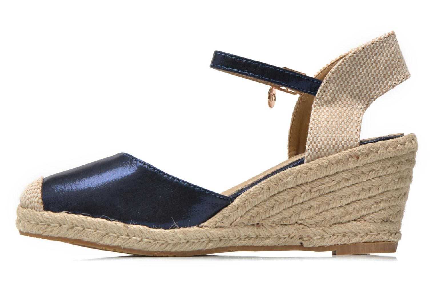Sandals Xti Brownie 45061 Blue front view
