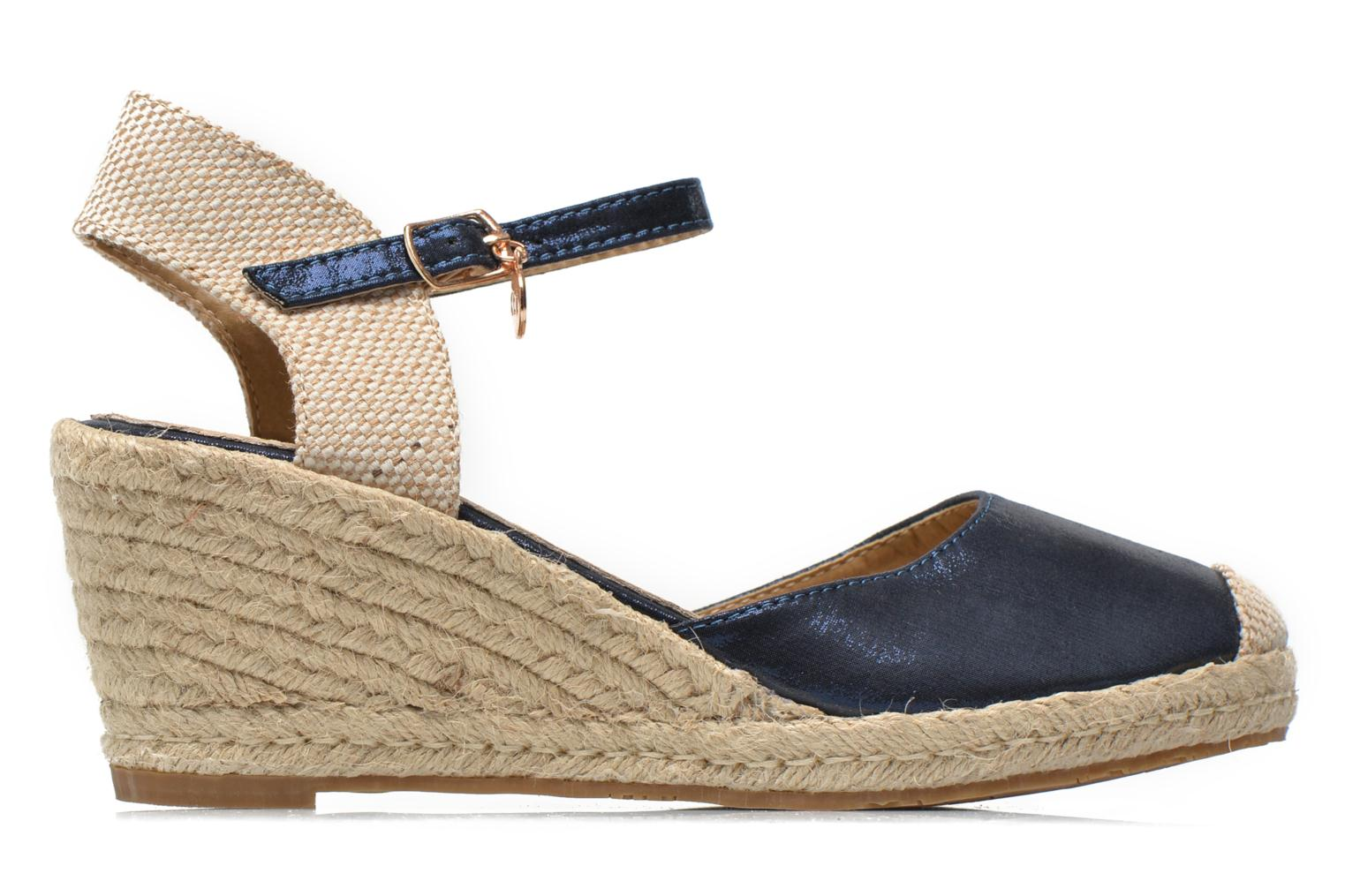 Sandals Xti Brownie 45061 Blue back view