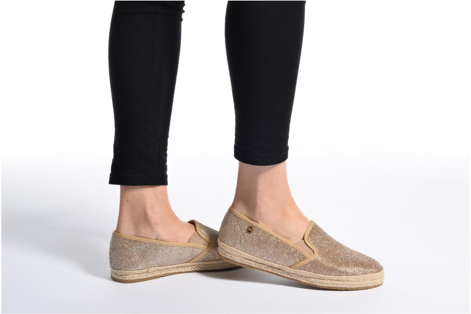 Espadrilles Xti Arianne 45215 Black view from underneath / model view