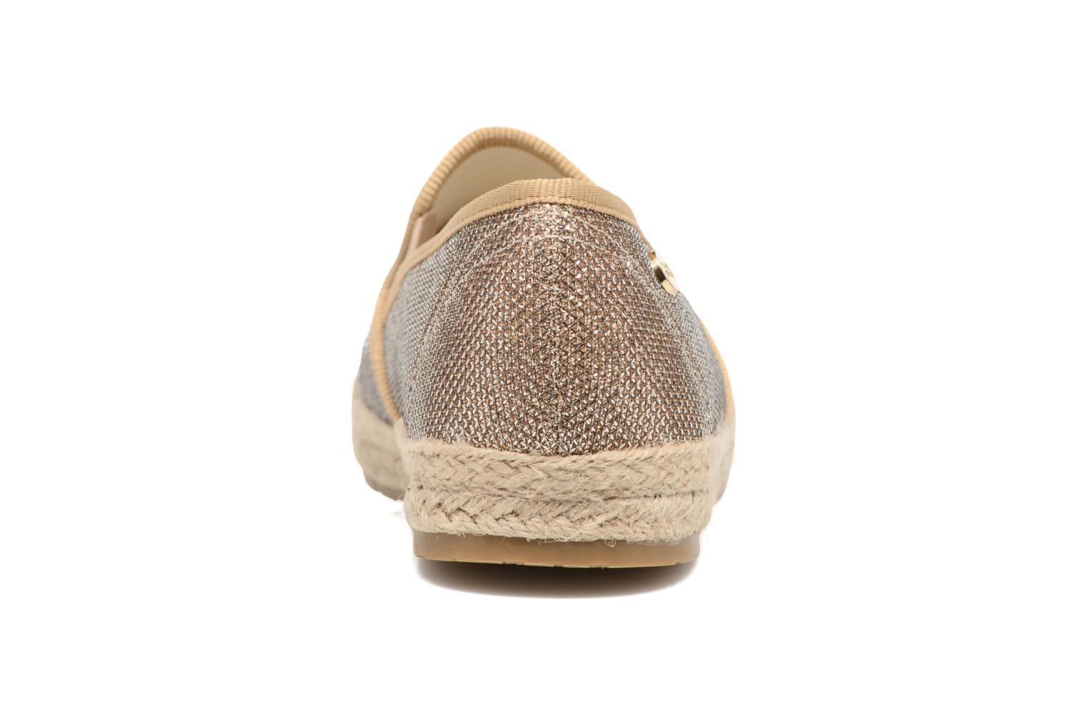Espadrilles Xti Arianne 45215 Bronze and Gold view from the right