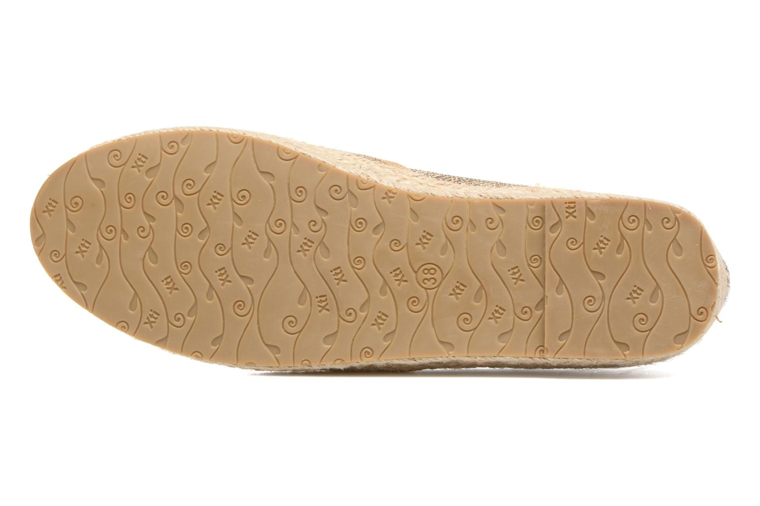 Espadrilles Xti Arianne 45215 Bronze and Gold view from above