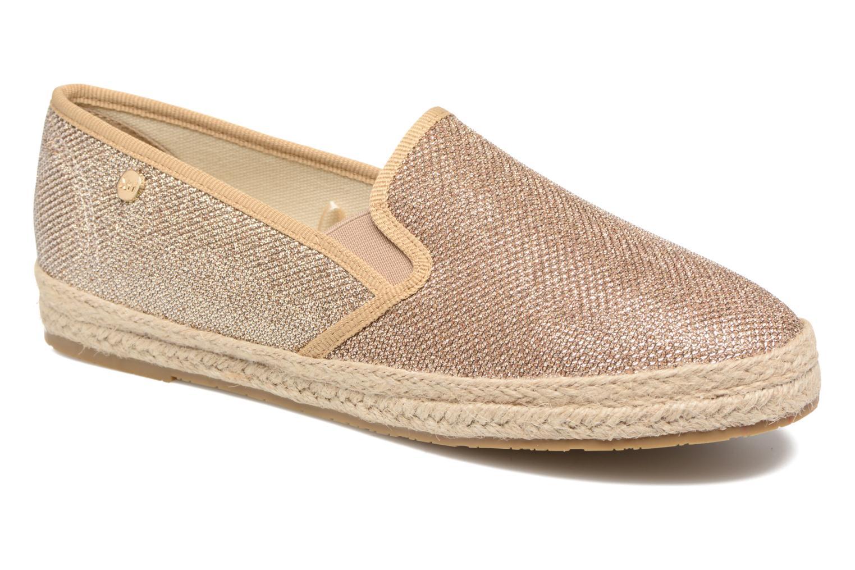 Espadrillos Xti Arianne 45215 Guld og bronze detaljeret billede af skoene