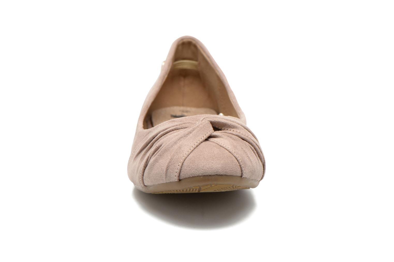 Ballerines Xti Constance 45114 Beige vue portées chaussures