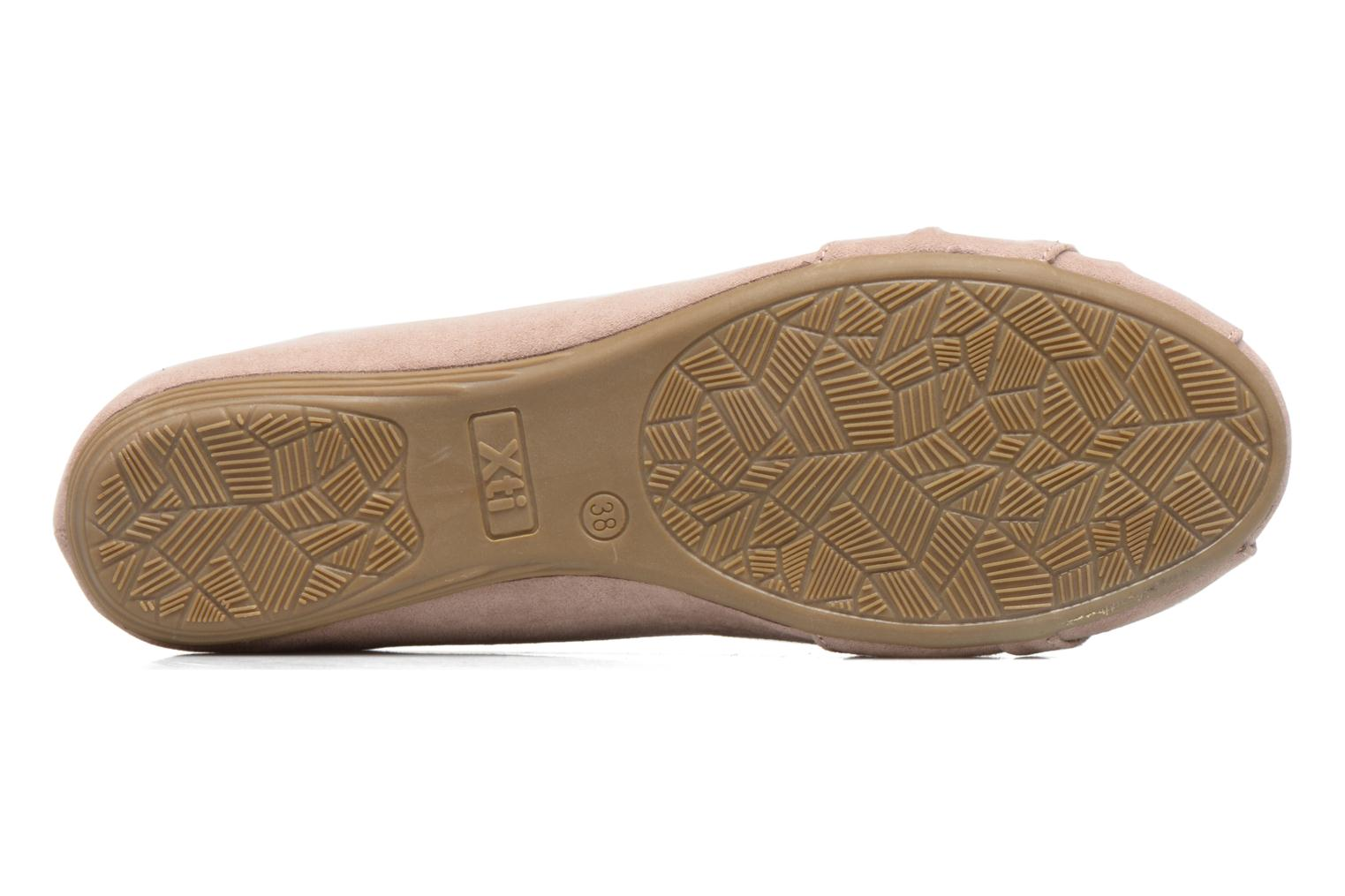 Ballet pumps Xti Constance 45114 Beige view from above