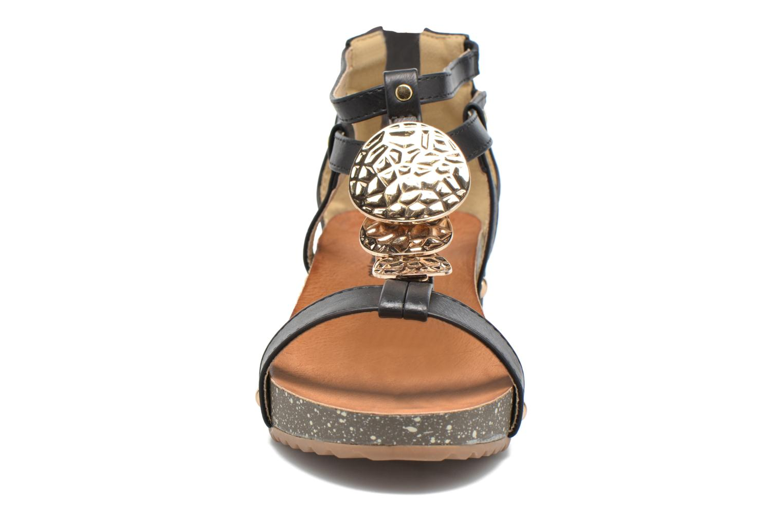 Sandalen Xti Jolie 45116 schwarz schuhe getragen