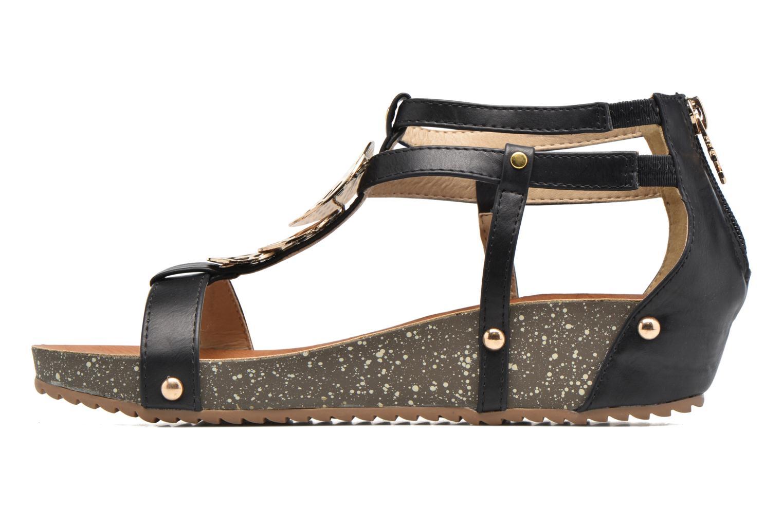Sandales et nu-pieds Xti Jolie 45116 Noir vue face