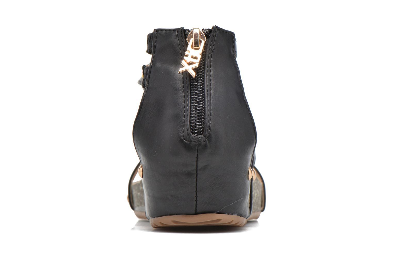 Sandales et nu-pieds Xti Jolie 45116 Noir vue droite