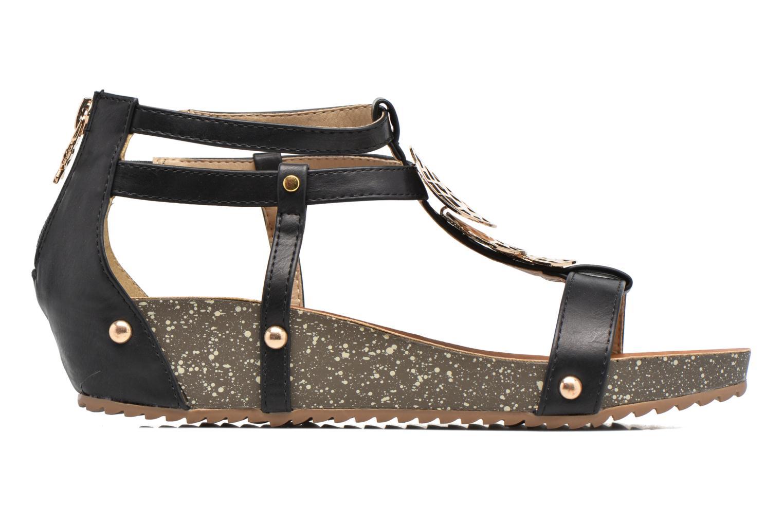 Sandales et nu-pieds Xti Jolie 45116 Noir vue derrière
