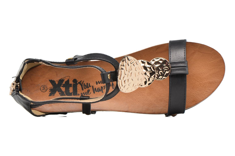 Sandales et nu-pieds Xti Jolie 45116 Noir vue gauche
