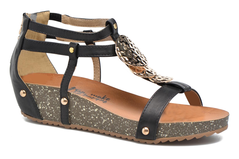 Sandales et nu-pieds Xti Jolie 45116 Noir vue détail/paire