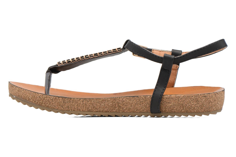 Sandales et nu-pieds Xti Reality 45103 Noir vue face