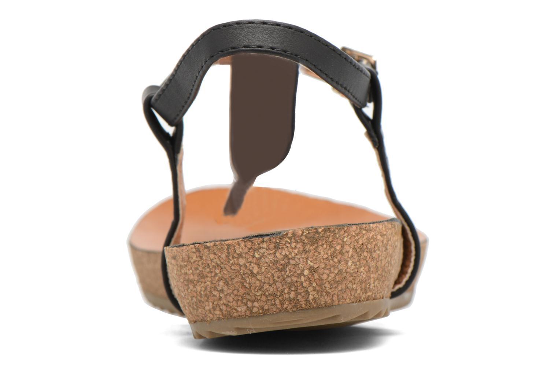 Sandales et nu-pieds Xti Reality 45103 Noir vue droite