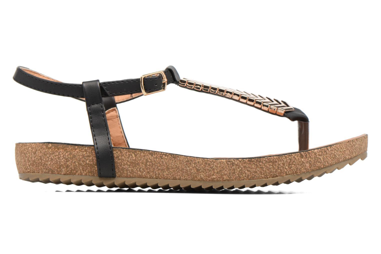 Sandales et nu-pieds Xti Reality 45103 Noir vue derrière
