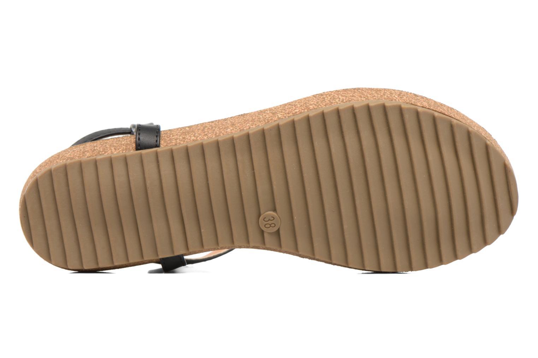 Sandales et nu-pieds Xti Reality 45103 Noir vue haut