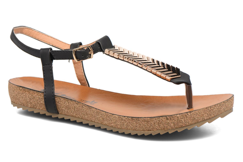 Sandales et nu-pieds Xti Reality 45103 Noir vue détail/paire
