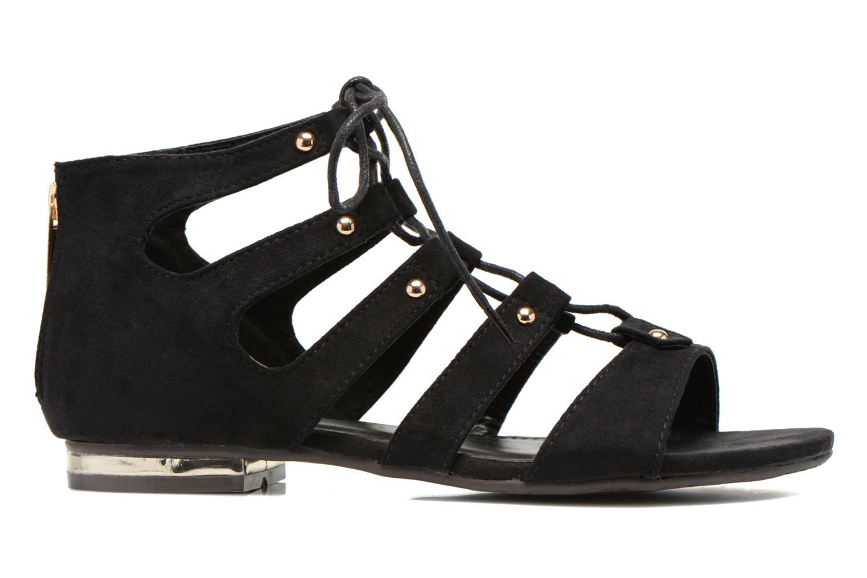 Sandales et nu-pieds Xti Rififi 45239 Noir vue derrière