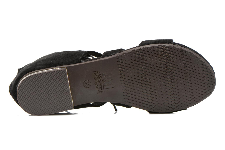 Sandales et nu-pieds Xti Rififi 45239 Noir vue haut