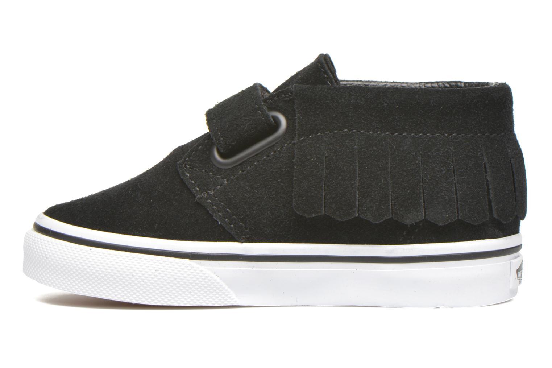 Sneaker Vans Chukka V Moc BB schwarz ansicht von vorne