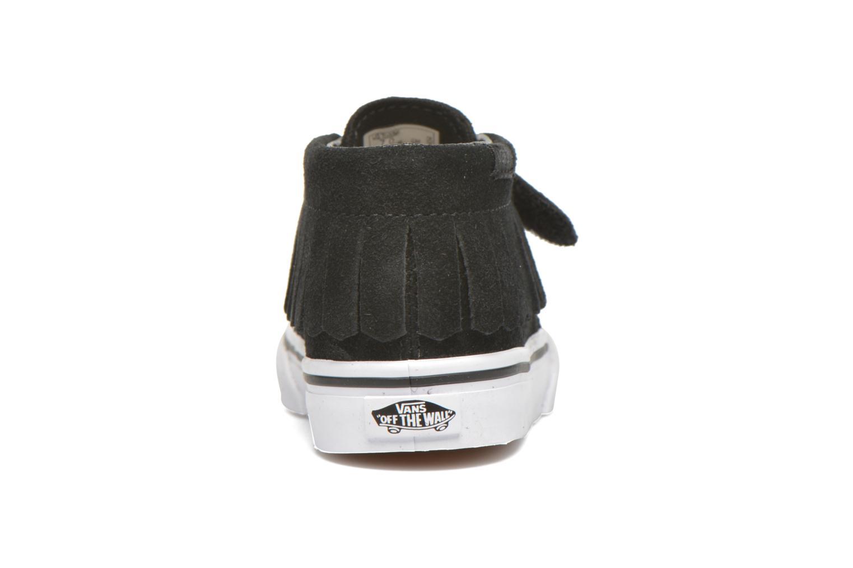 Sneaker Vans Chukka V Moc BB schwarz ansicht von rechts