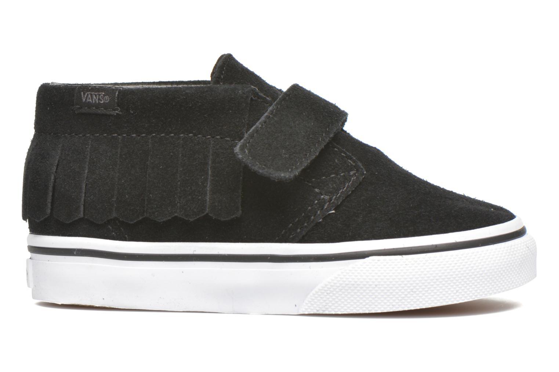 Sneaker Vans Chukka V Moc BB schwarz ansicht von hinten