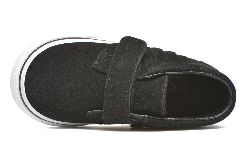 Sneaker Vans Chukka V Moc BB schwarz ansicht von links