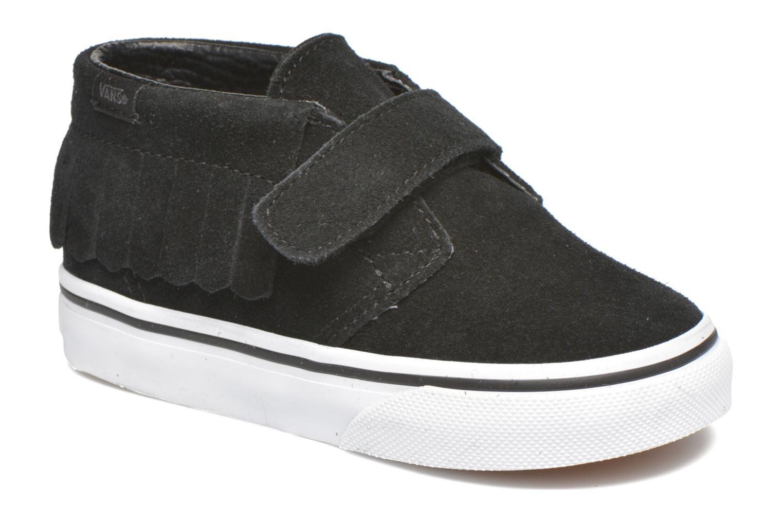 Sneaker Vans Chukka V Moc BB schwarz detaillierte ansicht/modell