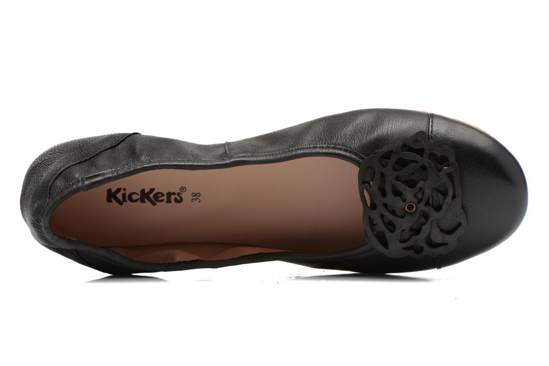 Ballerina's Kickers Liber Zwart links