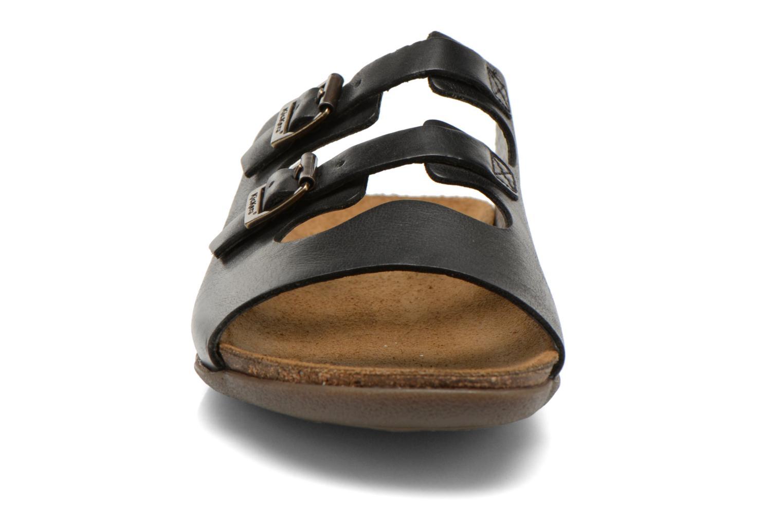 Mules et sabots Kickers Atchoum Noir vue portées chaussures