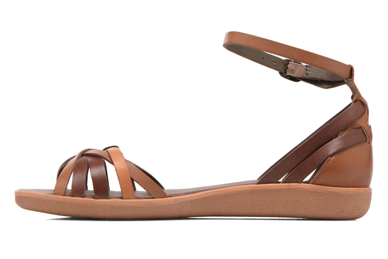 Sandales et nu-pieds Kickers Hypocrate Marron vue face