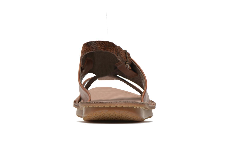 Sandales et nu-pieds Kickers Wawa Marron vue droite