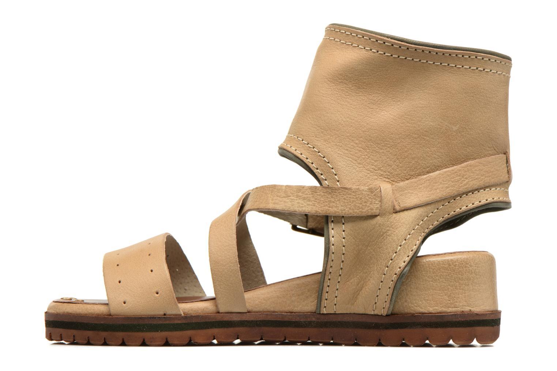 Sandalen Kickers Casertyn beige ansicht von vorne