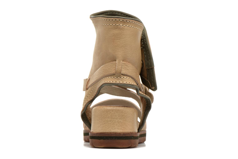 Sandalen Kickers Casertyn beige ansicht von rechts