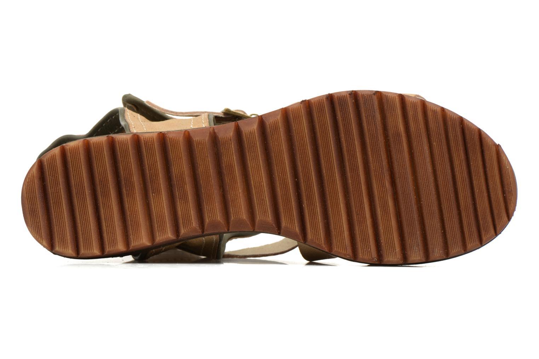 Sandalen Kickers Casertyn beige ansicht von oben