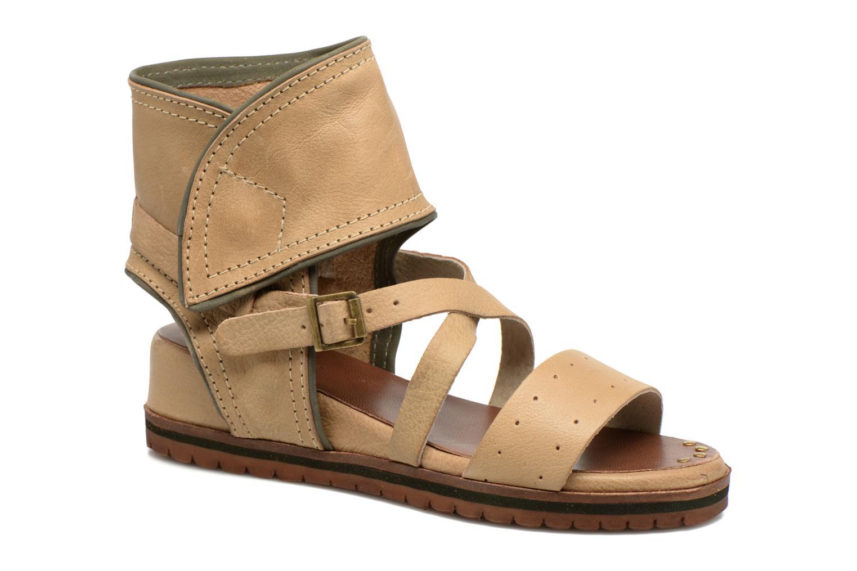 Sandalen Kickers Casertyn beige detaillierte ansicht/modell