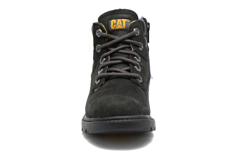 Bottines et boots Caterpillar Colorado Plus Zip Noir vue portées chaussures